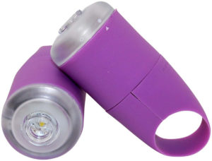 Lampsats Reelight GO lavender inkl. batteri