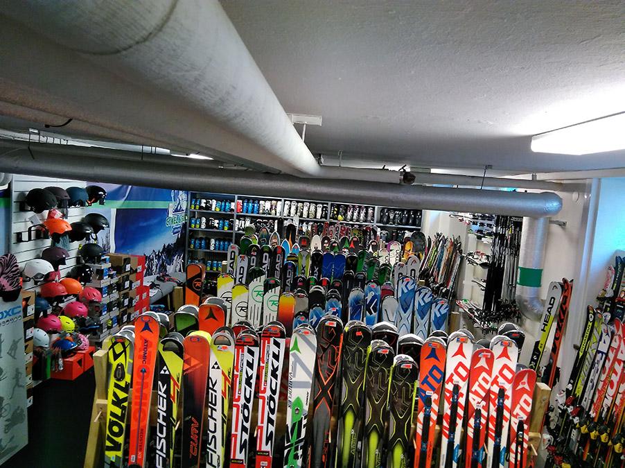 Sälja gamla skidor