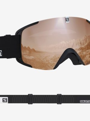 SALOMON XVIEW ACCESS BLACK-WHITE