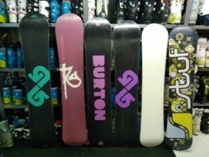 Begagnade snowboard